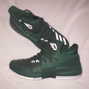 "Adidas Dame Lillard 3 ""Dark Green"""